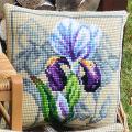 """Набор для вышивания Подушка OR9546 """"Великолепный ирис"""" 40х40см """"Orchidea"""""""