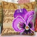 """Набор для вышивания Подушка OR9547 """"Фиалка"""" 40х40см """"Orchidea"""""""