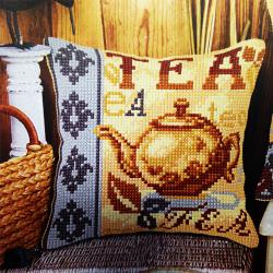 """Набор для вышивания Подушка OR9558 """"Чай"""" 40х40см """"Orchidea"""""""
