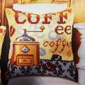 """Набор для вышивания Подушка OR9559 """"Кофе"""" 40х40см """"Orchidea"""""""