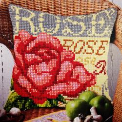 """Набор для вышивания Подушка OR9567 """"Роза"""" 40х40см """"Orchidea"""""""