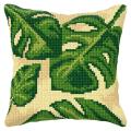 """Набор для вышивания Подушка OR9585 """"Листья"""" 40х40см """"Orchidea"""""""