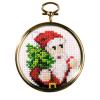 """Набор для вышивания с рамкой OR6085 """"Санта с ёлкой"""" """"Orchidea"""""""