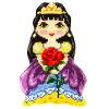 """Набор для вышивания Подушка фигурная 32,5х47,5см OR9334 """"Orchidea"""""""