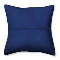 """Обратная сторона подушки c молнией синяя 40х40см """"Orchidea"""""""