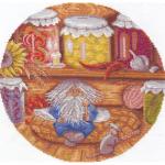"""Набор для вышивания """"Домовой - хранитель очага"""" """"Panna"""""""