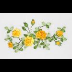 """Набор для вышивания лентами """"Жёлтые розы"""" """"Panna"""""""