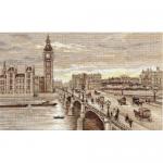 """Набор для вышивания """"Лондон. Вестминстерский мост"""" """"Panna"""""""
