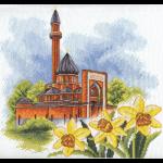 """Набор для вышивания """"Мемориальная мечеть в Москве"""" """"Panna"""""""