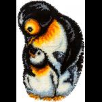 """Набор для вышивания Коврик """"Пингвины"""" """"Panna"""""""