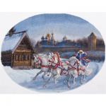 """Набор для вышивания """"Три белых коня"""" """"Panna"""""""
