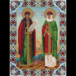 """Набор для вышивания бисером """"Икона Святых Петра и Февронии"""" """"Panna"""""""