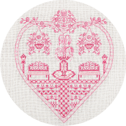 """Набор для вышивания """"Розовый сад"""" """"Panna"""""""