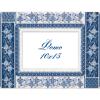 """Набор для вышивания Рамка для фотографии """"Голубая лоза"""" """"Panna"""""""