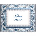 """Набор для вышивания Рамка для фотографии """"Синяя роза"""" """"Panna"""""""