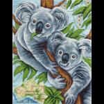 """Набор для вышивания """"Пушистые коалы"""" """"Panna"""""""