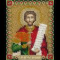 """Набор для вышивания бисером """"Икона Святого мученика Виктора Месукевийского, Грузинского"""" """"Panna"""""""