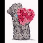 """Набор для вышивания """"Tatty Teddy с сердцем из роз"""" """"Panna"""""""