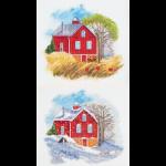 """Набор для вышивания """"Времена года: Осень, Зима"""" """"Panna"""""""