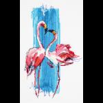 """Набор для вышивания """"Розовые фламинго"""" """"Panna"""""""