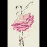 """Набор для вышивания """"Балерина. Роза"""" """"Panna"""""""