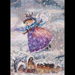 """Набор для вышивания """"Зимний ангел"""" """"Panna"""""""