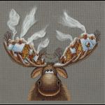 """Набор для вышивания """"Рождественский лось"""" """"Panna"""""""