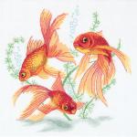 """Набор для вышивания """"Золотые рыбки"""" """"Panna"""""""