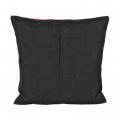 """Обратная сторона подушки черная с молнией 45х45см """"Panna"""""""