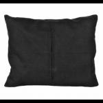 """Обратная сторона подушки черная с молнией 50х40см """"Panna"""""""