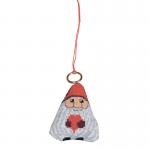 """Набор для вышивания """"Дед Мороз с сердцем"""" """"Permin"""" (Дания)"""