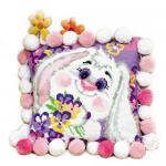 """Набор для вышивания Подушка """"Кролик"""" 30х30см """"Риолис"""""""