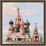 """Набор для вышивания """"Москва. Собор Василия Блаженного"""" """"Риолис"""""""