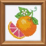 """Набор для вышивания бисером """"Апельсин"""" """"Риолис"""""""