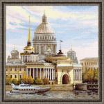 """Набор для вышивания """"Санкт-Петербург. Адмиралтейская набережная"""" """"Риолис"""""""