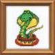"""Набор для вышивания бисером """"Королева змей"""" """"Риолис"""""""