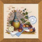 """Набор для вышивания """"Натюрморт с сыром"""" """"Риолис"""""""