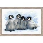 """Набор для вышивания """"Забавные пингвины"""" """"Риолис"""""""