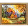 """Набор для вышивания """"Деревенский пейзаж. Осень"""" """"Риолис"""""""