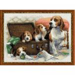 """Набор для вышивания """"Собачье семейство"""" """"Риолис"""""""