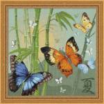 """Набор для вышивания """"Бабочки"""" """"Риолис"""""""
