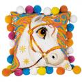 """Набор для вышивания Подушка """"Златогривая лошадка"""" 30х30см """"Риолис"""""""
