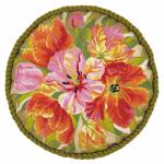 """Набор для вышивания Подушка """"Тюльпаны"""" d=45см """"Риолис"""""""