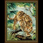 """Набор для вышивания """"Хозяин джунглей"""" """"Риолис"""""""