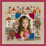 """Набор для вышивания """"Панно для фотографии. Замок принцессы"""" """"Риолис"""""""