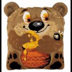"""Набор для вышивания Подушка """"Медвежонок"""" 30х35см """"Риолис"""""""