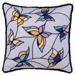 """Набор для вышивания Подушка/Панно """"Витраж. Бабочки"""" """"Риолис"""""""