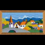 """Набор для вышивания """"Городок в горах"""" """"Риолис"""""""