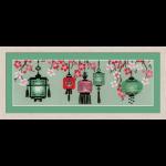 """Набор для вышивания """"Китайские фонарики"""" """"Риолис"""""""