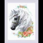 """Набор для вышивания """"Белогривая лошадка"""" """"Риолис"""""""